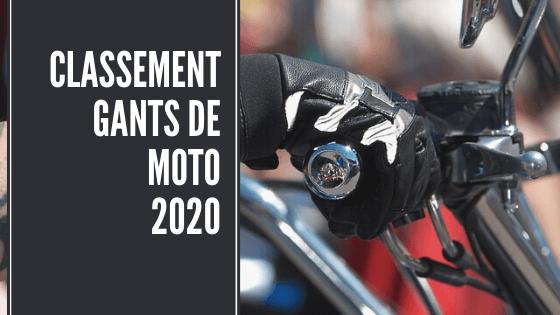 Meilleurs gants de moto 2020