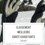 Meilleurs gants de ski chauffants 2020