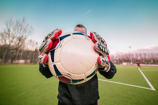football, gardien
