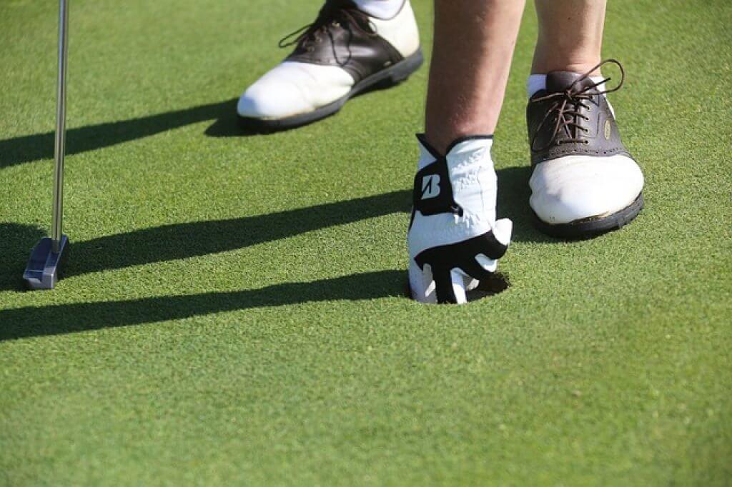 gant de golf pour debutant
