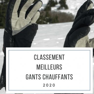 Meilleurs gants de ski chauffants - Guide d'achat (2021)